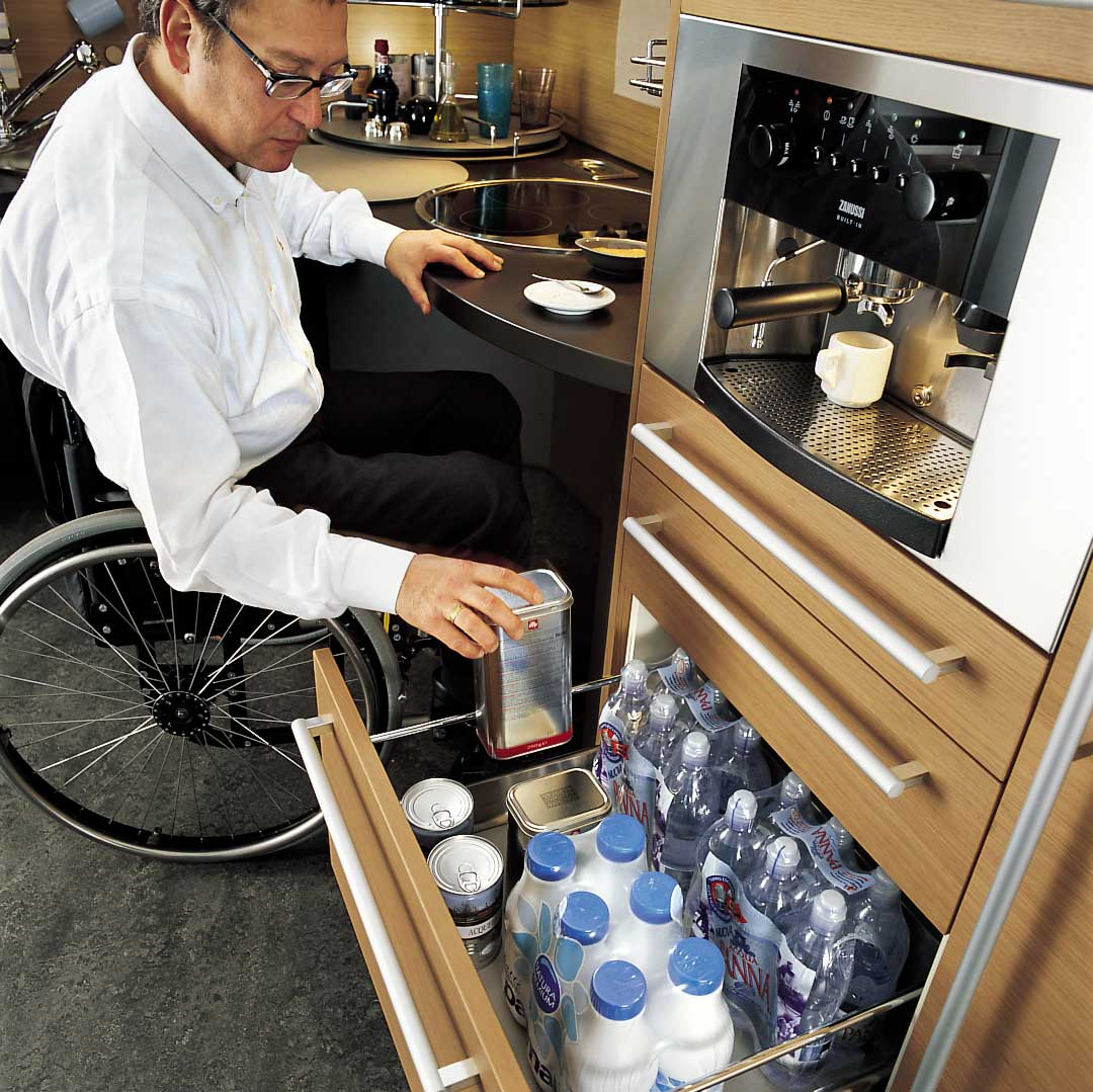 Skyline lab for Disabled friendly kitchens