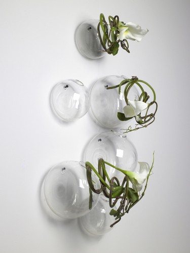 V zy a floristika - Boule en verre pour plante a suspendre ...